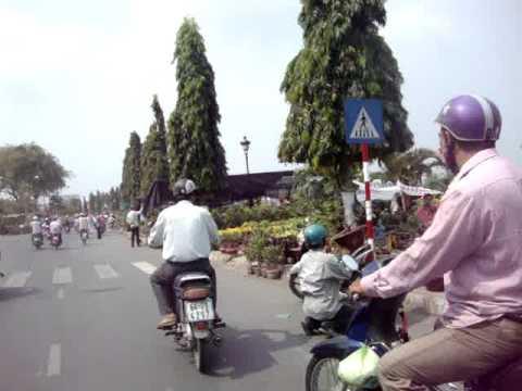 chợ hoa Vĩnh Long vào xuân Tân Mão 2011