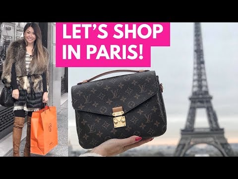 PARIS LUXURY SHOPPING VLOG | CHANEL, LOUIS VUITTON, HERMES & DIOR - Part 1