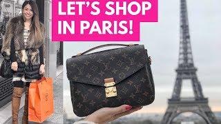 PARIS LUXURY SHOPPING VLOG | CHANEL, LOUIS VUITTON, HERMES & DIOR - Part 1
