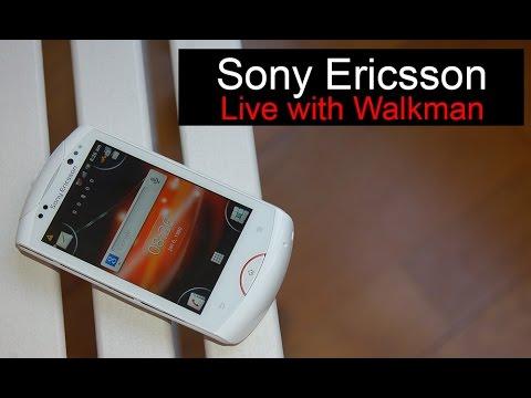 Sony Ericsson Live with Walkman, anunciado en 2011 | Historia Telefonía Móvil