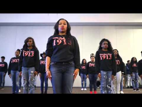 DST Kappa Delta Chapter Founders Day Yard Show