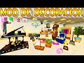 DECOCRAFT 🖼EL MOD DE DECORACIÓN DEFINITIVO: IMPRESCINDIBLE 🛋MINECRAFT