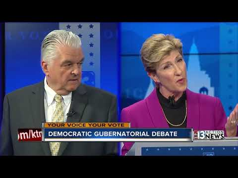 Nevada Gubernatorial Debate: Steve Sisolak and Chris Giunchigliani