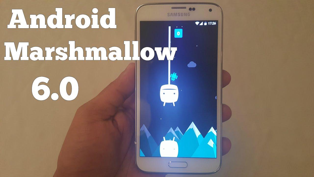 Android 6.0 marshmallow для samsung galaxy s4
