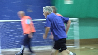 'There's nothing like scoring a goal!' - older guys talk about walking football