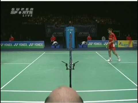 Lin Dan vs Lee Chong Wei AE 09 MS Final (5/5)