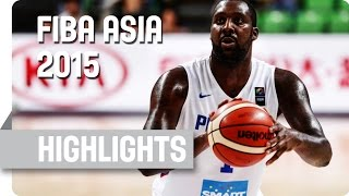 Philippines v Hong Kong - Group B - Game Highlights - 2015 FIBA Asia Championship