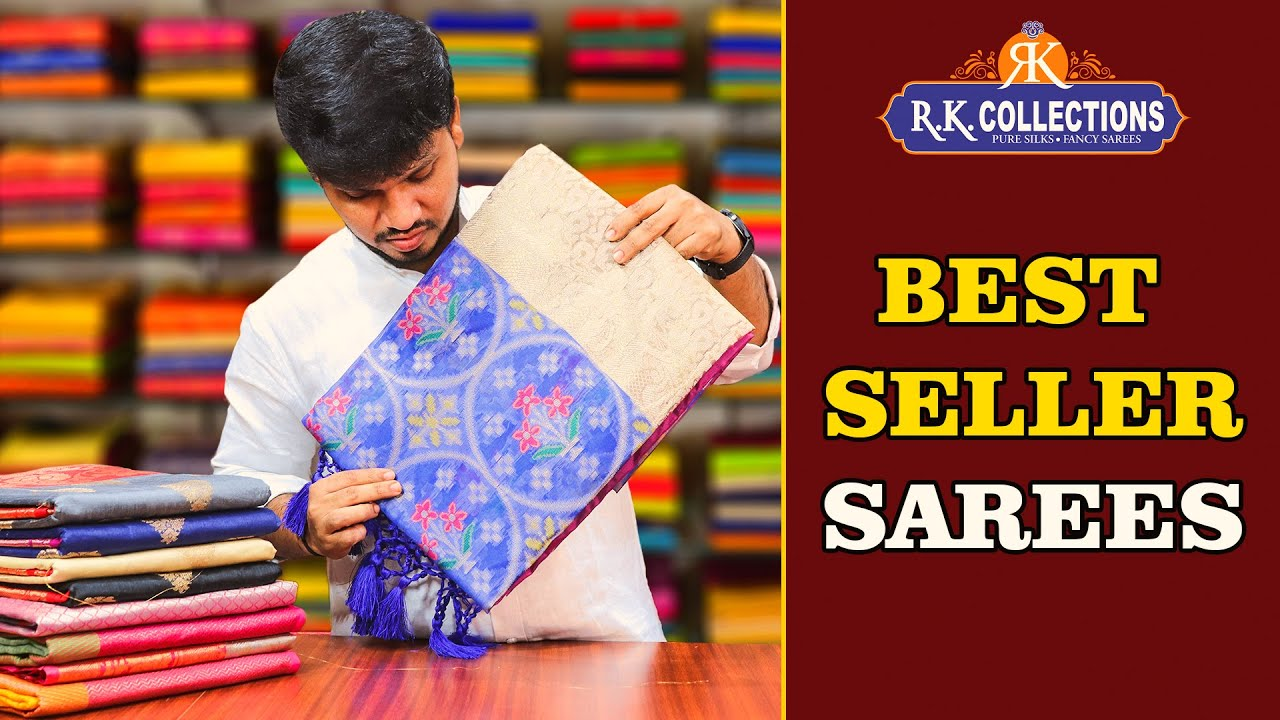 Best Seller Sarees Collections I www.rkcollections.in I