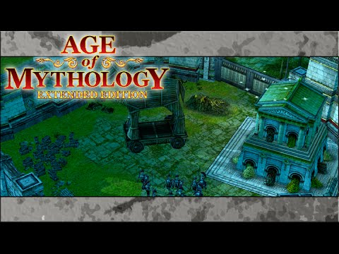 BUILDING THE TROJAN HORSE! | Age of Mythology EE (Campaign) #3