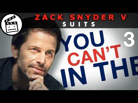 ZACK SNYDER V SUITS (Part 3 of 4)