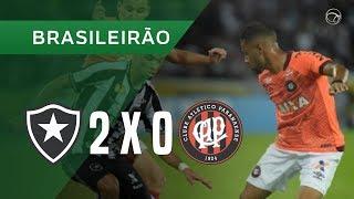 BOTAFOGO 2 X 0 ATLÉTICO-PR - 13/06 - BRASILEIRÃO 2018