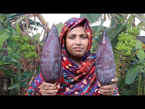Farm Fresh Banana Flower Fry Recipe Healthy Cooking Fresh Banana Blossom Fried Curry Village Food