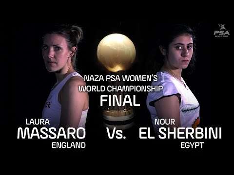 NAZA PSA WOMEN'S WORLD CHAMPIONSHIP - Final Highlights - Massaro v El Sherbini
