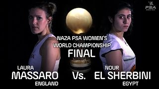 NAZA PSA WOMEN\'S WORLD CHAMPIONSHIP - Final Highlights - Massaro v El Sherbini