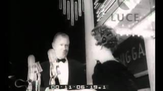 """Il raduno ad Atlanta degli attori del film """"Via col vento""""."""