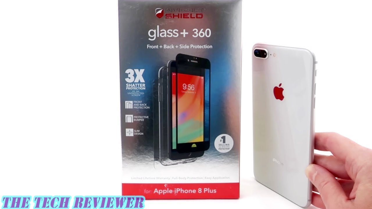 best service 4bcf1 9f036 Zagg Glass+ 360 for iPhone 8 Plus: Comprehensive Protection for Front, Back  and Sides.