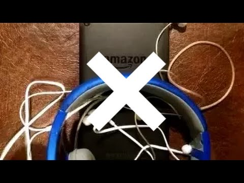 Do Not Use Headphones With Your Amazon Fire 5th Gen!