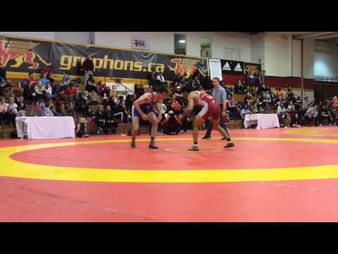 2015 Guelph Open: 70 kg Final Kevin Iwasa-Madge vs. Gaelon Malloy