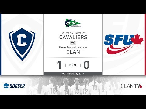SFU Clan Women's Soccer vs. CU - October 21, 2017