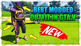 "GTA 5 *MUST HAVE* ""Best Modded Outfit In Gta 5 Online & Best RnG Outfit Tutorial"" Transfer Outfit"