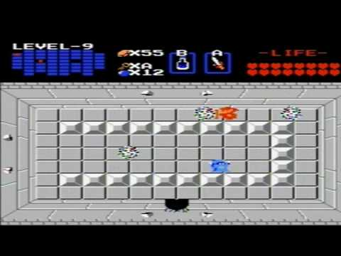 The Legend of Zelda (NES) Walkthrough - Level 9 (Spectacle Rock ...