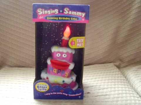 Sammy The Singing Birthday Cake