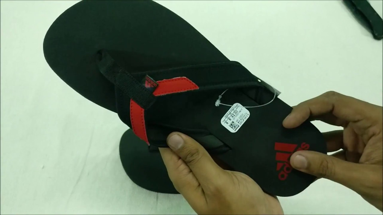 3fb6ae51eb73 Adidas Flip-Flops and House Slippers Unboxing. - YouTube
