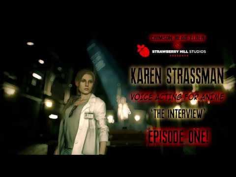 RESIDENT EVIL 2  KAREN STRASSMAN