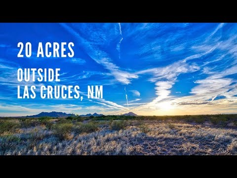 New Mexico Land For Sale: 20 Acres by Las Cruces in Dona Ana County