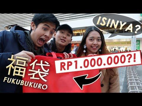 BELI FUKUBUKURO 1 JUTA RUPIAH! ISINYA!?