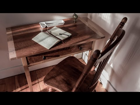 Build a Biscuit Jointed Writing Desk