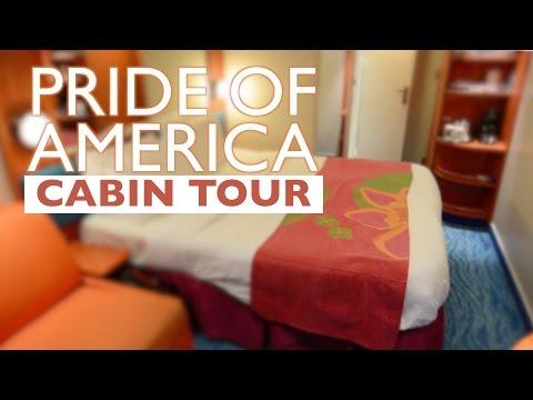 Pride of America Balcony Cabin Tour