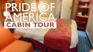NEW: Pride of America Balcony Cabin Tour