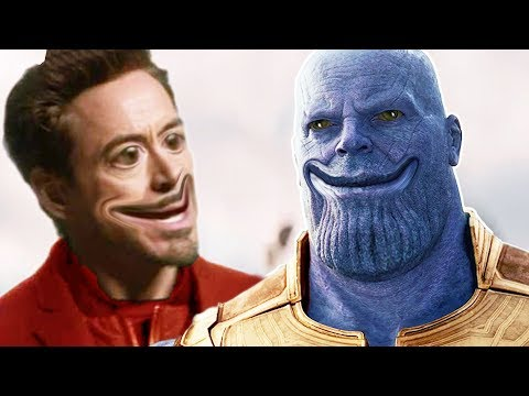 You Laugh You Lose - AVENGERS INFINITY WAR Edition