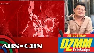DZMM TeleRadyo: Moderate to heavy rains ahead due to Amang - PAGASA