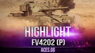 Нагиб с чаем и овсянкой! видео FV4202 (P) в World of Tanks