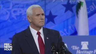 Mike Pence  CPAC 2017