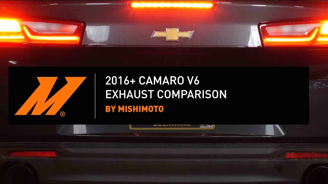 2016+ Camaro V6 Exhaust Comparison
