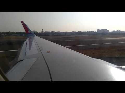 Nepal Airlines RA205 landing in Chatrapati Shivaji Mumbai International Airport