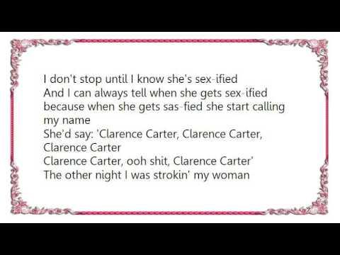 Clarence Carter - Strokin' Lyrics