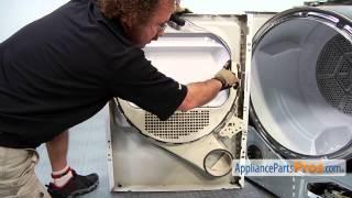 Dryer Door Latch (part #WE1M1011) - How To Replace