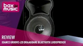 iDance Groove 420 draagbare Bluetooth luidspreker - Review