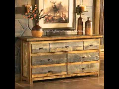 Modern rustic furniture ideas  YouTube