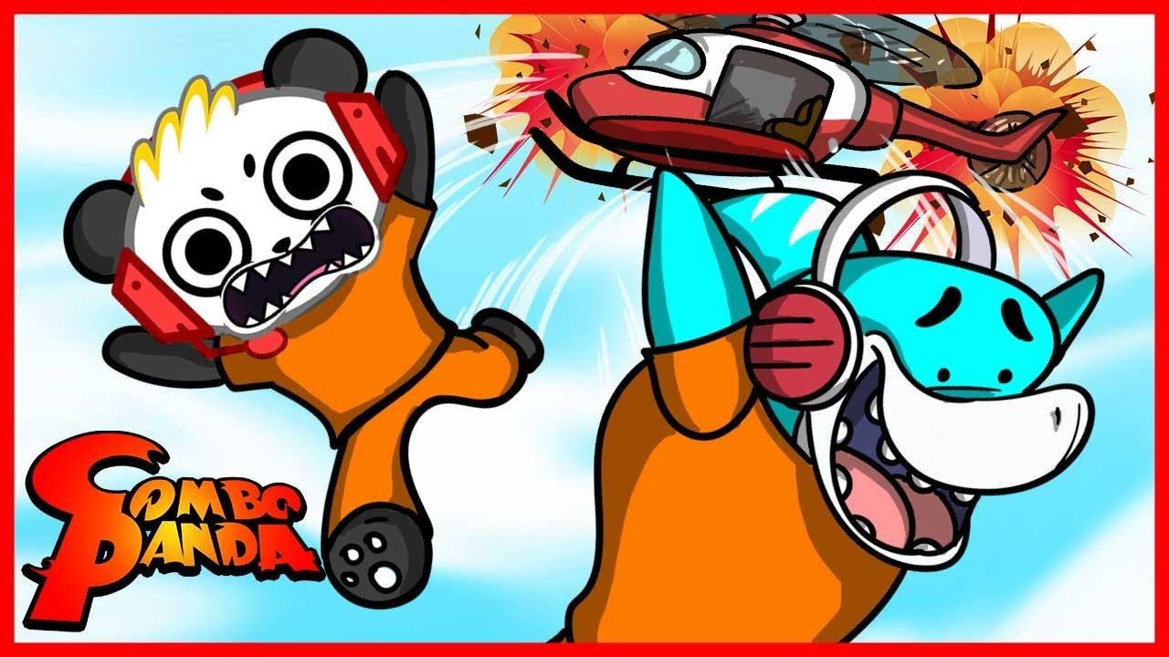 let's play roblox  big gil and combo panda  youtube