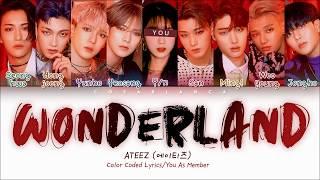 ATEEZ Wonderland with 9 members 에이티즈