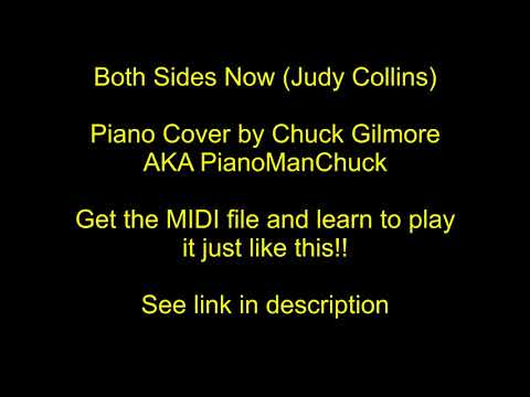 "Learn to play ""Both Sides Now"" (Judy Collins) on Piano with this MIDI file!"