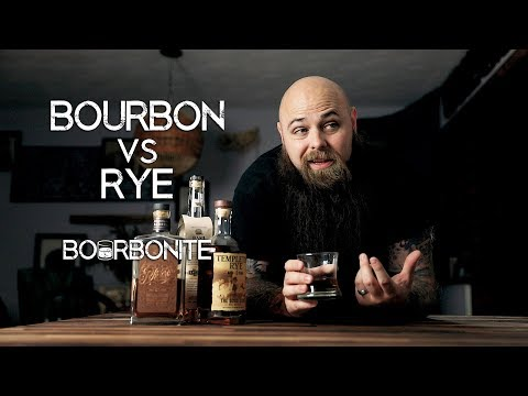 Bourbon VS Rye - What's the DIFFERENCE?