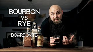 Bourbon VS Rye - What's tнe DIFFERENCE?