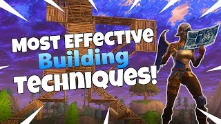 The Most Effective Building Techniques! - Fortnite Build Fight Guide Ep. 1