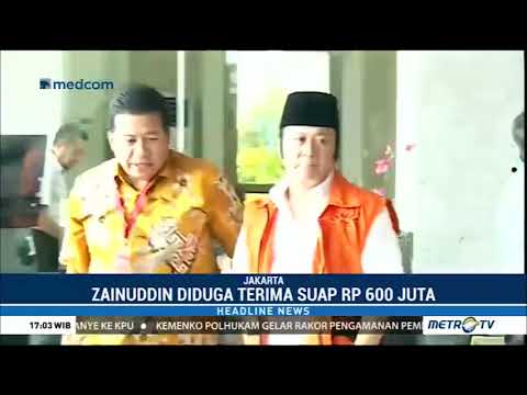Zainuddin Hasan Diperiksa KPK Sebagai Tersangka